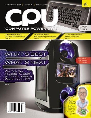 CPU / January 2007 - bib tiera ru static
