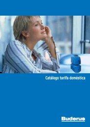Catálogo tarifa doméstica - Francisco AR Sousa