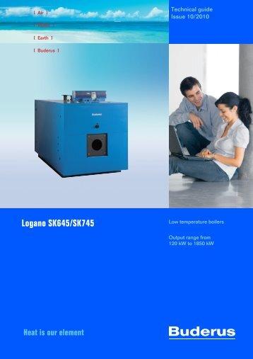 Logano SK645/SK745 - Buderus