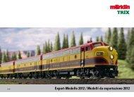 Export-Modelle 2012 / Modelli da esportazione 2012 - Märklin