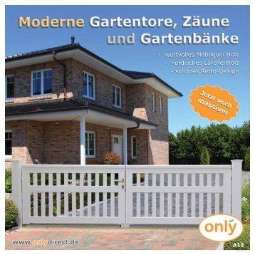 Gartentor ROOF - onlydirect.de