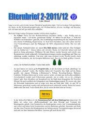 Elternbrief 2 - Deutsche Schule Buhrkall