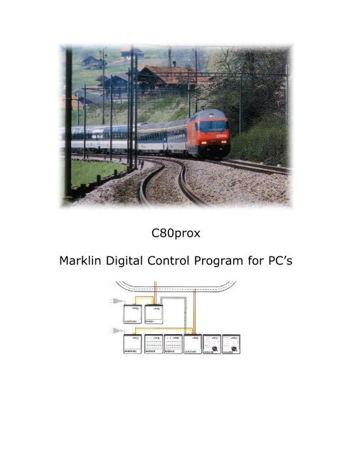 C80prox Marklin Digital Control Program for PC's