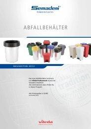 ABFALLBEHÄLTER - Semadeni AG