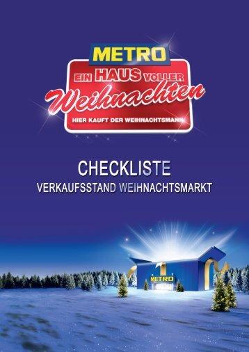 Einkaufszettel - Metro
