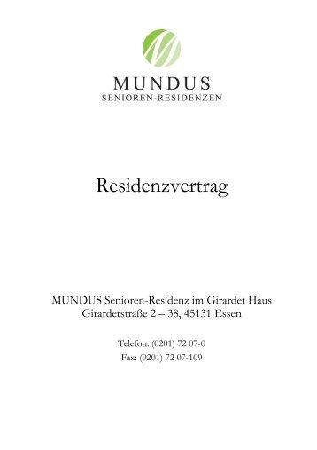 Residenzvertrag - Mundus