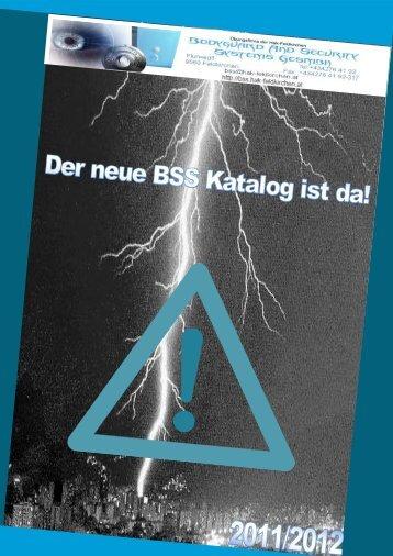 Katalog herunterladen - Bodyguard and Security Systems GesmbH
