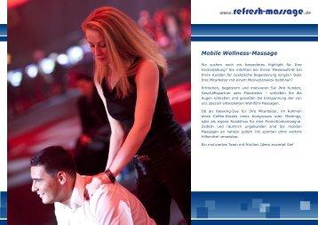 """""""Refresh Massage"""" - Mobile Massagen"""