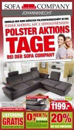 Das größte Polsterfachgeschäft in OWL! - Sofa Company ...