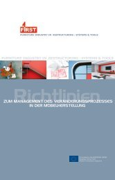 furniture industry in restructuring : systems & tools - UEA