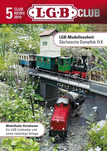 LGB-Modellneuheit: Sächsische Dampflok IV K - De Bruijn-Bussum