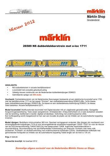 Märklin Shop - Grootendorst