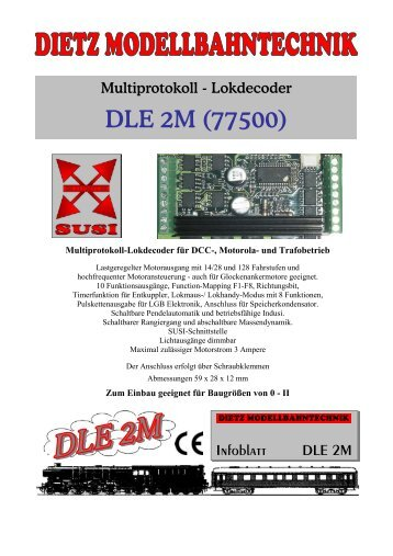 Multiprotokolldecoder DLE 2M - DIRSAN