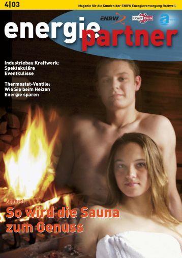 So wird die Sauna zum Genuss So wird die Sauna zum Genuss