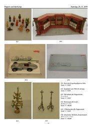 Puppen und Spielzeug Samstag, 20. 11. 2010