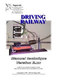 Copyright (c) 1997 - 2012 by Pegase Info - Driving Railway, Easy ...