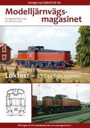 Test av Märklins T44 - Modelljärnvägsmagasinet