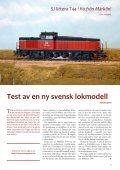 Test av Märklins T44 - Modelljärnvägsmagasinet - Page 5