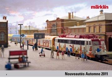 Nouveautés Automne 2011 - Märklin