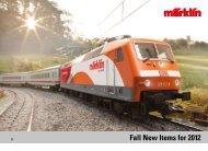 Fall New Items for 2012 - Marklin