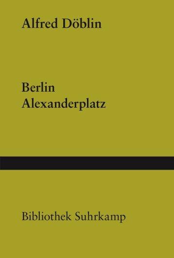 Alfred Döblin Berlin Alexanderplatz - Deutscher Klub