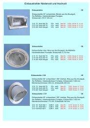 Einbaustrahler Niedervolt und Hochvolt - Licht 2000