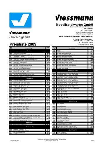 Kalkulation Preisliste 2008-2009