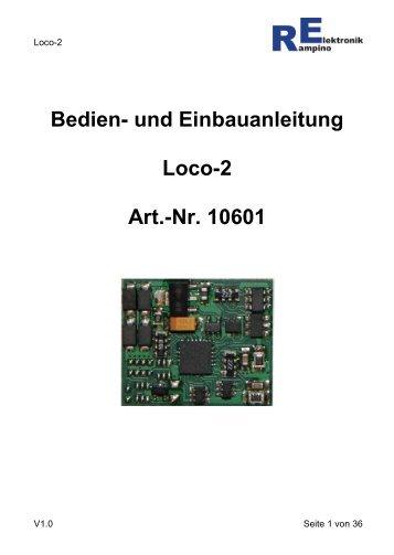 Anleitung Loco-2