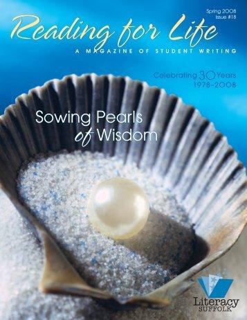 Sowing Pearls ofWisdom Sowing Pearls ofWisdom - Literacy Suffolk