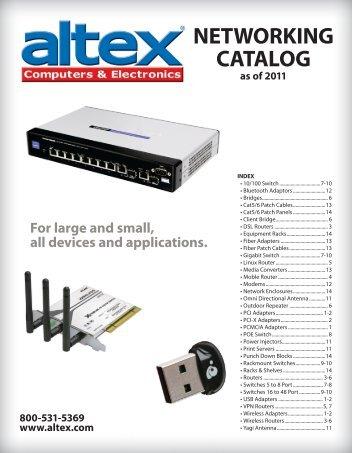 NETWORKING CATALOG - Altex Computers & Electronics