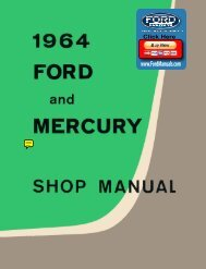 DEMO - 1964 Ford and Mecury Shop Manual - FordManuals.com