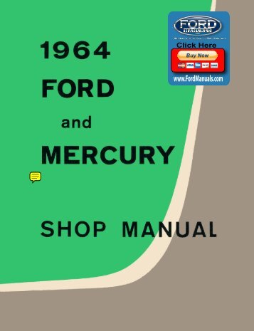 DEMO - 1964 Ford and Mecury Shop Manual - FordManuals.com