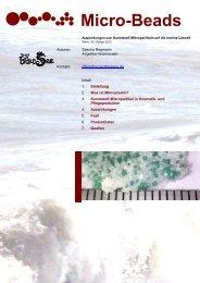 Micro-Beads - Project Blue Sea e.V.