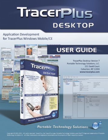 TracerPlus Desktop for TracerPlus Windows ... - TracerPlus.com