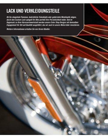 LACK UND VERKLEIDUNGSTEILE - Harley-Davidson und Buell Erfurt