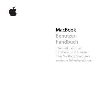 MacBook Benutzer- handbuch