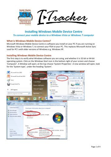 microsoft windows 7 mobile device center 64 bit