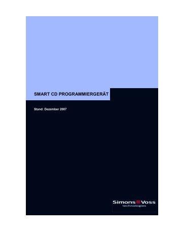 SmartCD Programmiergerät - Simons-Voss