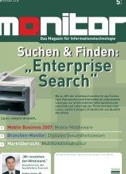 Suchen & Finden: Suchen & Finden: - Monitor