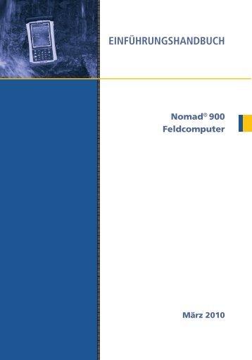 EINFÜHRUNGSHANDBUCH - Hommel Vermessungssysteme