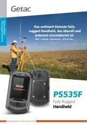 Download Datenblatt zum Getac PS535F