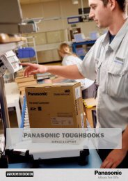 Toughbook Support & Service