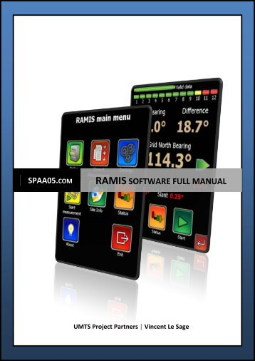 RAMIS software full manual - SPAA05.com
