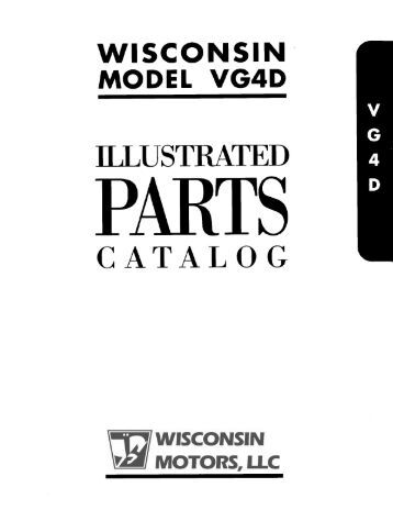 Free Wisconsin Vg4d engine Manual