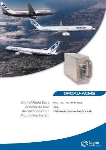 Digital Flight Data Acquisition Unit Aircraft Condition ... - Sagem