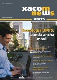 Tecnología UMTS: banda ancha móvil - Xacom Comunicaciones