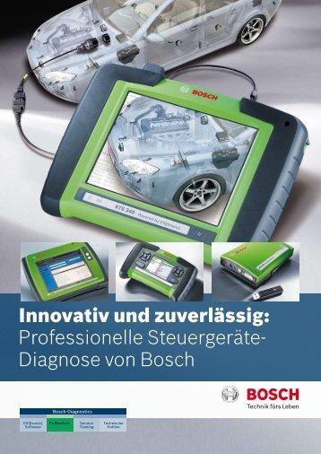 Innovativ und zuverlässig: Professionelle Steuergeräte- Diagnose ...