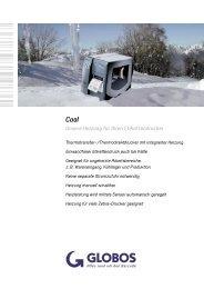 Cool Unsere Heizung für Ihren Etikettendrucker - GLOBOS GmbH