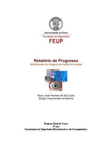 Relatório de Progresso - Faculdade de Engenharia da Universidade ...