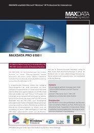 MAXDATA PRO 6100 I